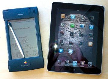 Newton og iPad