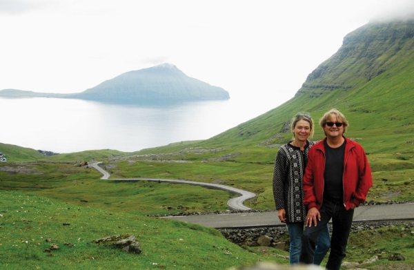 Merete og Stanley på Færøerne