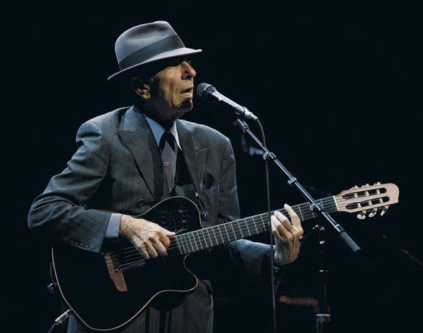Leonard Cohen pressebilde