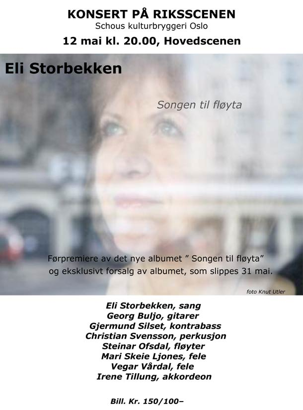Eli Storbekken plakat
