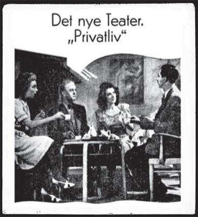 Plakat fra Det Nye Teater