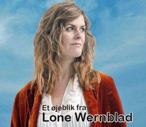 Lone Wernblad CD-omslag