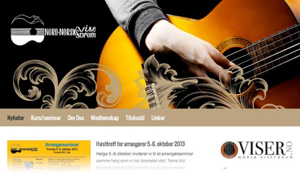 Nordnorsk Viseforums nettsider