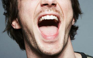 Åpen munn