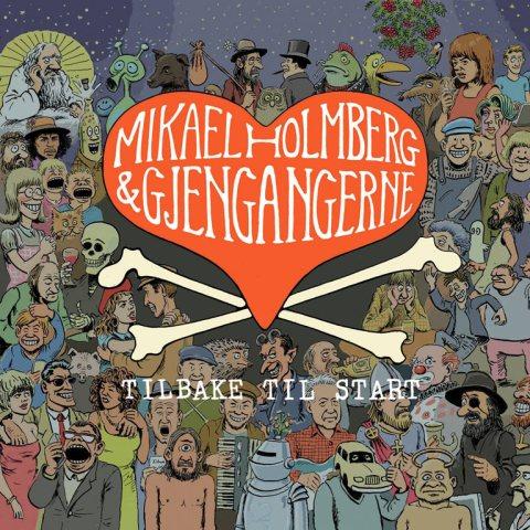 CD-omslag tegnet av Mikael Holmberg