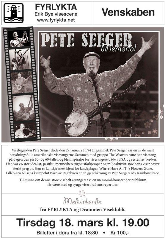 Plakat Seeger Fyrlykta