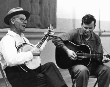 Clarence Ashley og Doc Watson