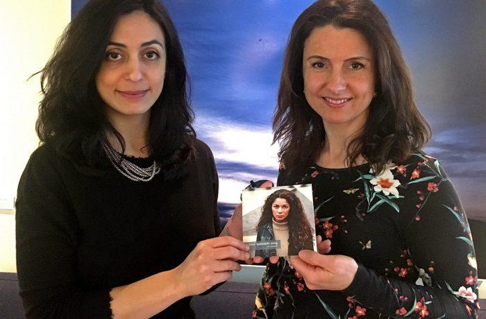 Hadia Tajik og Jenny Klinge