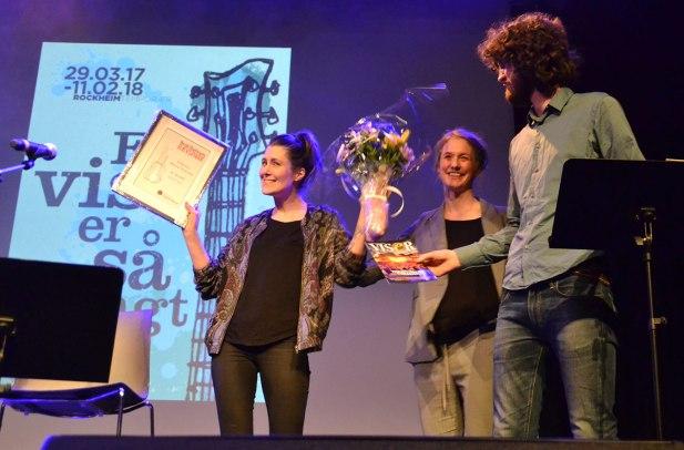 Overrekkelse av Rævspark-stipendet 2017