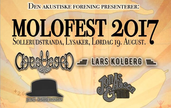 Molofest 2017 - Akustisk festival på Lysaker 19. August