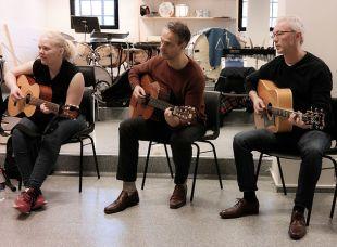 Deltakerer på gitarcamp