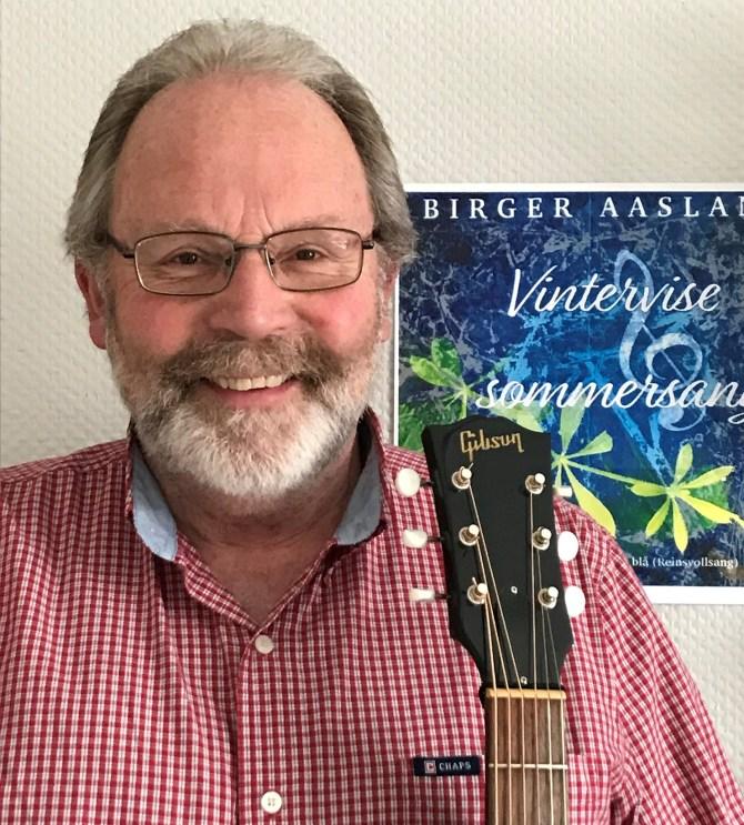 Birger Aasland med omslag