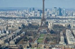 Paris med Eiffeltårnet