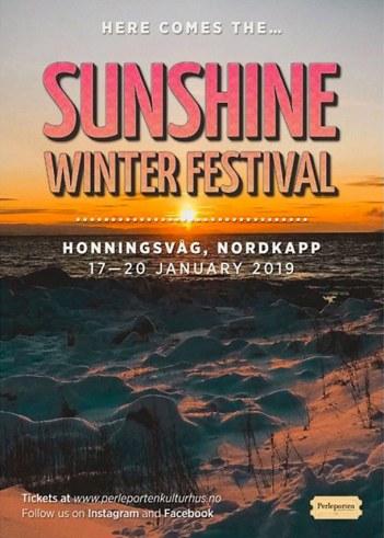 Sunshine vinterfestival plakat