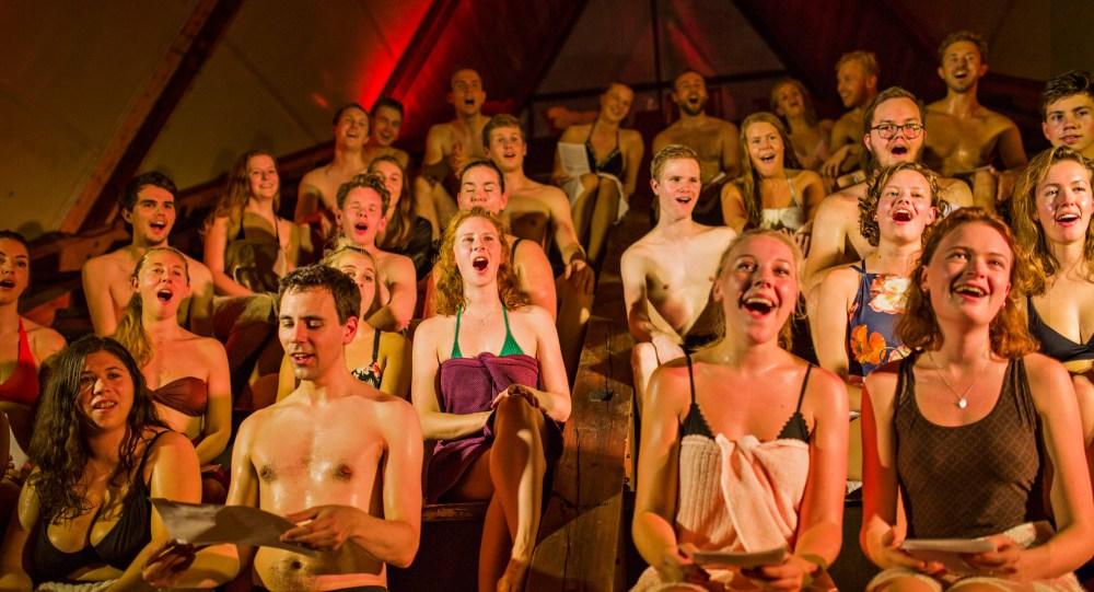 Allsang i sauna 3