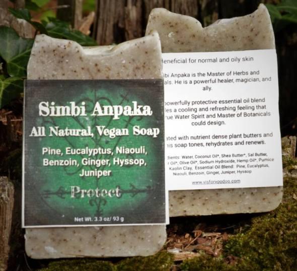 Simbi Anpaka Vegan Soap