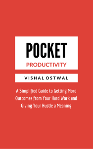 Pocket Productivity - Vishal Ostwal