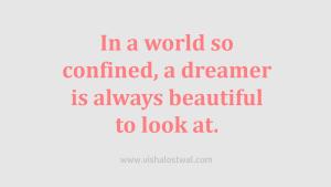 Dreamers Quote - Vishal Ostwal