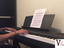 Anjli on the Piano