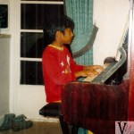 Amar at the Piano