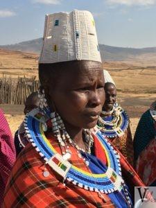 Colourful Masai