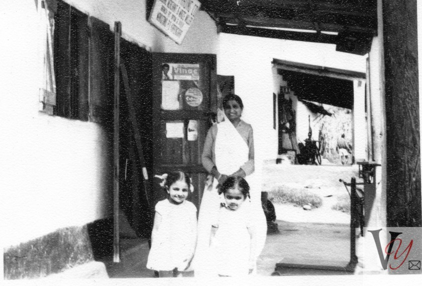 Surajba with daughter and granddaughter in Makutana