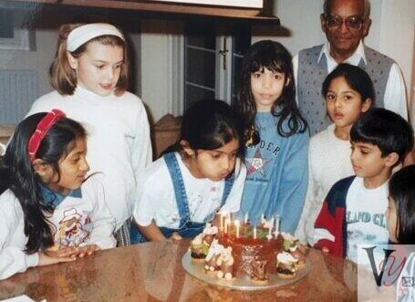 Celebrating with children