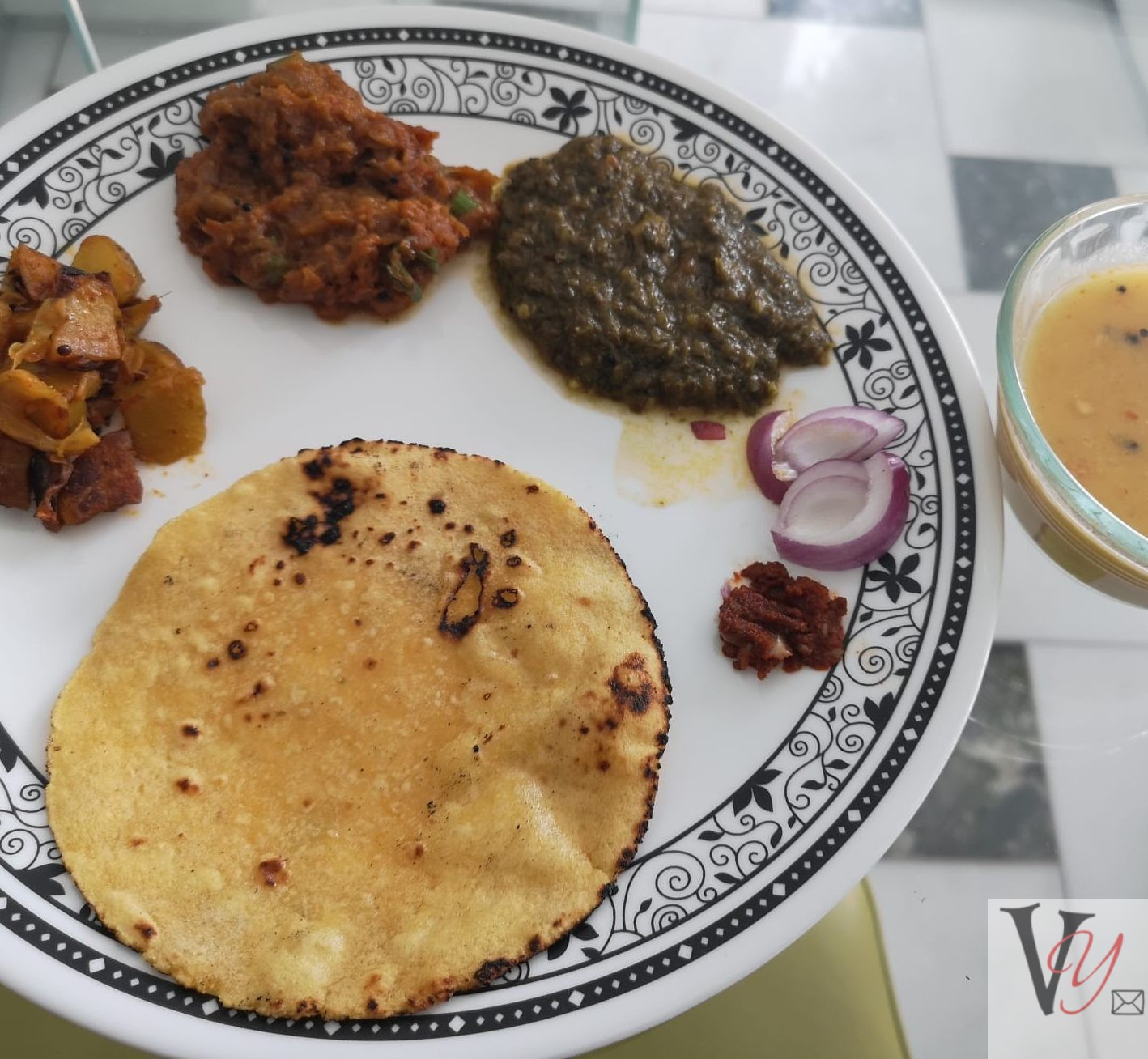 Thali with a difference