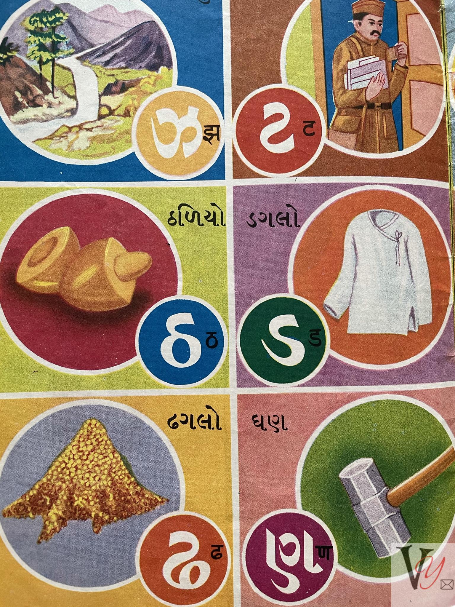 Gujarati letters 2