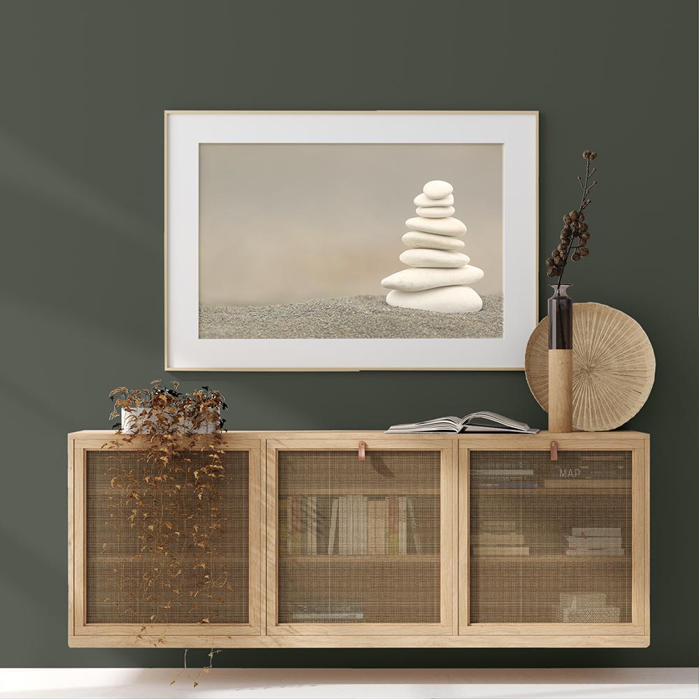 Green minimalist design in Haven