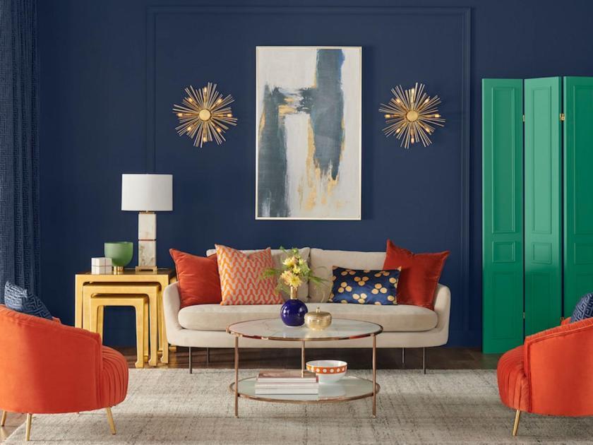 Living room design in Naval