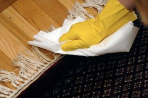 Cleaning carpets and flooring