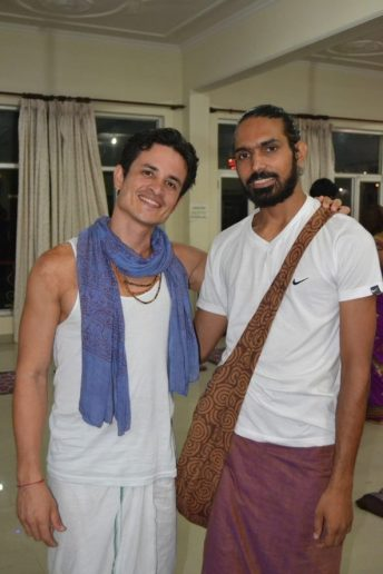 Vijay Dutt My dear Ashtanga Yoga Teacher in my 300 hrs TTC  Rishikesh India