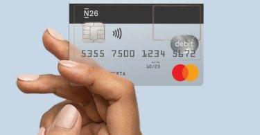 n26, carta di credito