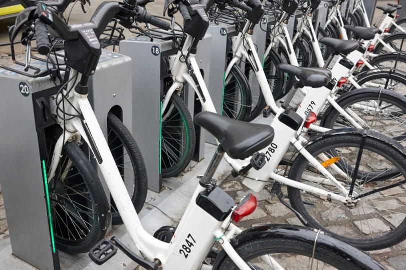 Mobilità sostenibile - bici elettriche in affitto