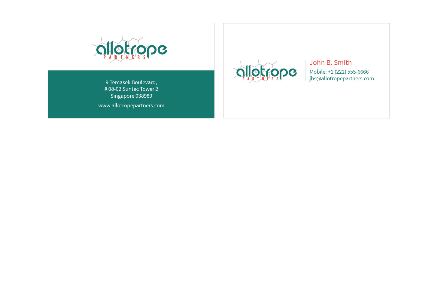 Allotrope Business Card
