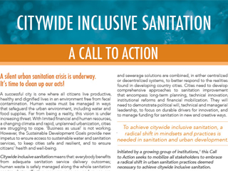Citywide Inclusive Sanitation