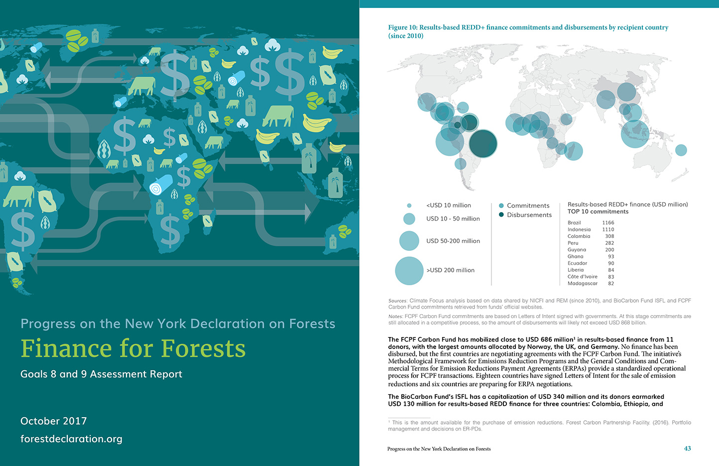 Progress on the New York Declaration on Forests: Goals 8 and 9 Assesment Report