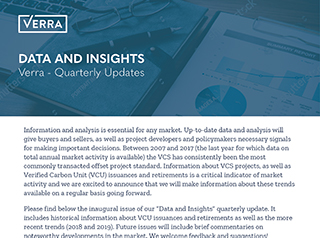 Verra Data and Insights