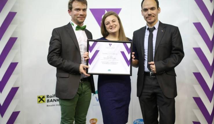 Vișinel Balan este Voluntarul Anului 2013 în domeniul Tineret!