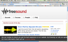 Freesound.org gives you great sound effects