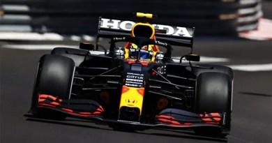 F1 perez monaco 2021 TL1 quinta Vision Art NEWS