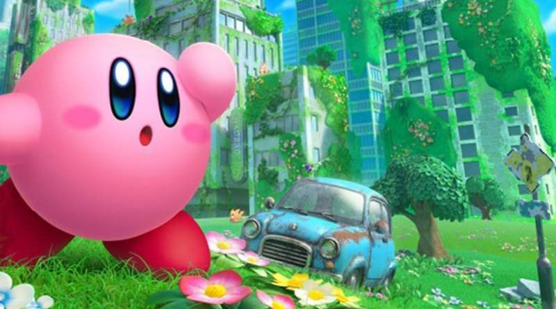 Kirby and Forgotten Land Trailer Vision Art NEWS