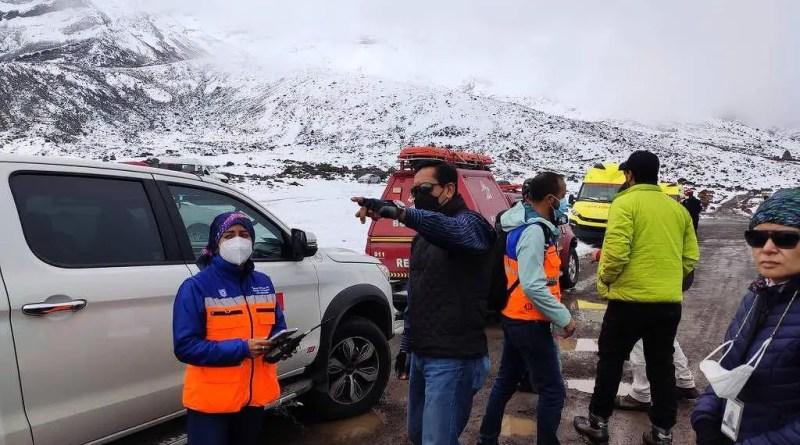 Avalanche em vulcão nevado no Equador deixa ao menos 4 mortos e 1 ferido – 24/10/2021 – Mundo
