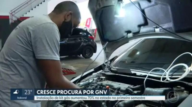 Procura por kit gás em veículos aumenta 70% no primeiro semestre no RJ | Rio de Janeiro