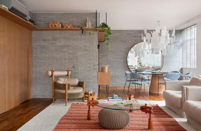 Apartamento nos Jardins assinado pela designer de interiores CACAU RIBEIRO foto 2 Vision Art NEWS