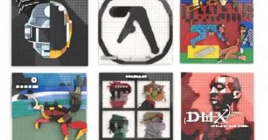 Artista recria capas de album famosas por meio de replicas de LEGO Vision Art NEWS