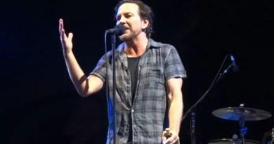 Eddie Vedder do Pearl Jam Vision Art NEWS
