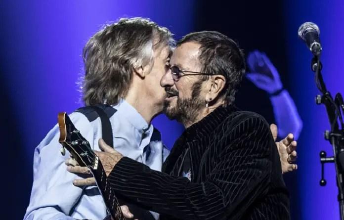 Paul McCartney e Ringo Starr Vision Art NEWS