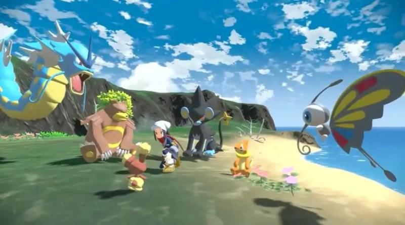 Pokemon Legends Arceus mundo aberto Vision Art NEWS